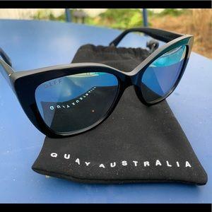 DIFFxChristina el Moussa Ruby Polarized Sunglasses